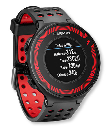Garmin Forerunner 220 Black & Red GPS Running Watch with High-Resolution Color Display