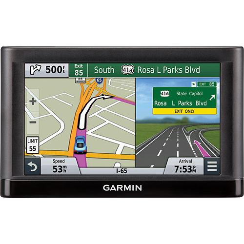 Garmin nuvi 65LM 6� Dual-Orientation Display for 49 States