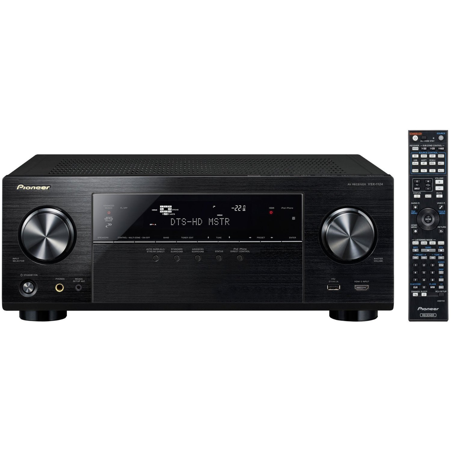 Pioneer VSX-1124 7.2-Channel Network A/V Receiver