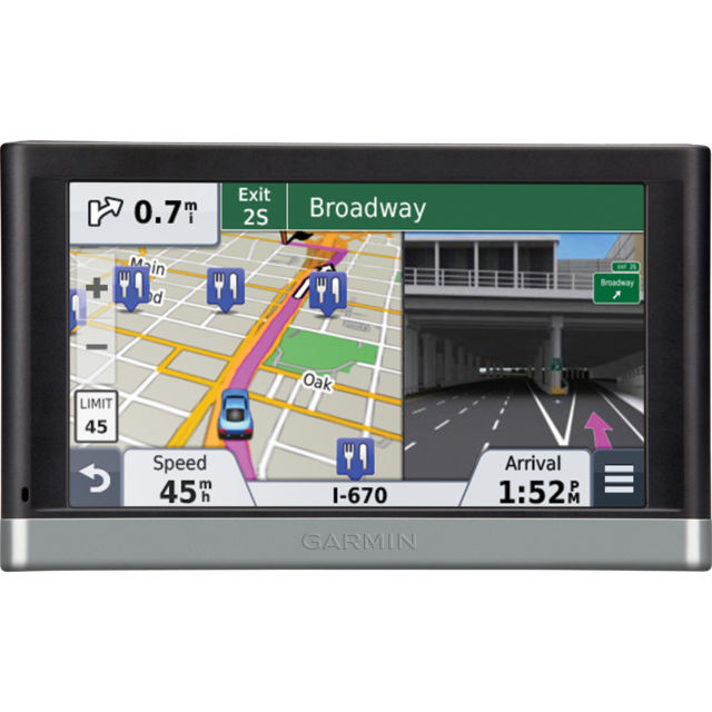 Garmin nuvi 2558LMTHD Dual-Orientation Capabilities for Horizontal or Vertical View