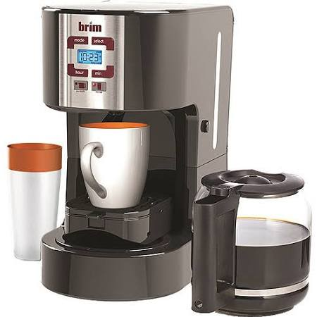 Brim Size-Wise SW20 Programmable Coffee Station, Black