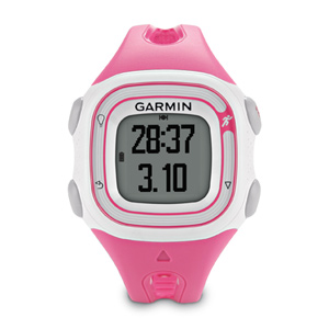 Garmin Forerunner 10 GPS Running Watch White & Pink