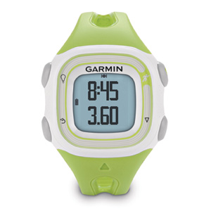 Garmin Forerunner 10 GPS Running Watch White & Green