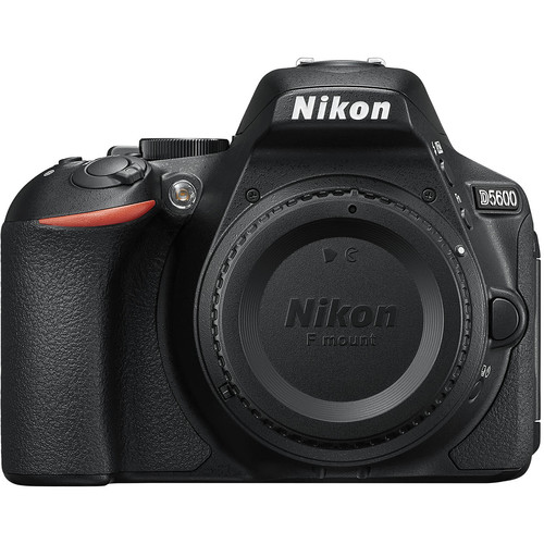 Nikon D5600 DSLR Camera with 18-55mm Lens (Black)