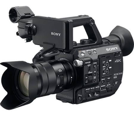 Sony PXW-FS5K XDCAM Super 35 Professional Camera w/ 18-105mm F/4 Lens