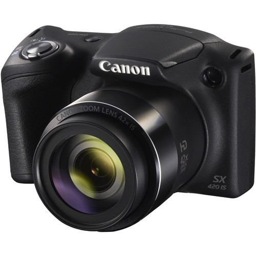 Canon PowerShot SX420 IS Digital Camera (Black)