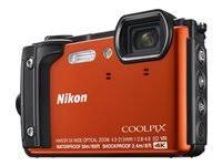 Nikon Coolpix W300 16.0 MP Compact Ultra HD Digital Camera - 4K - Orange