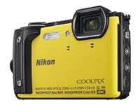 Nikon Coolpix W300 16.0 MP Compact Ultra HD Digital Camera - 4K - Yellow