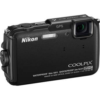 Nikon COOLPIX AW110 Digital Camera Kit 5