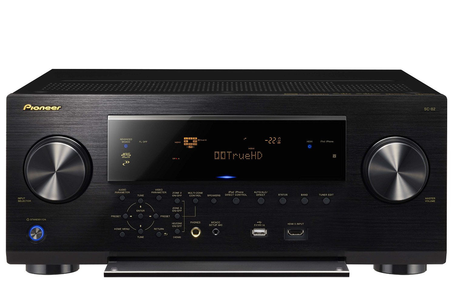Pioneer Elite SC-82 7.2-Channel Class D3 Network A/V Receiver