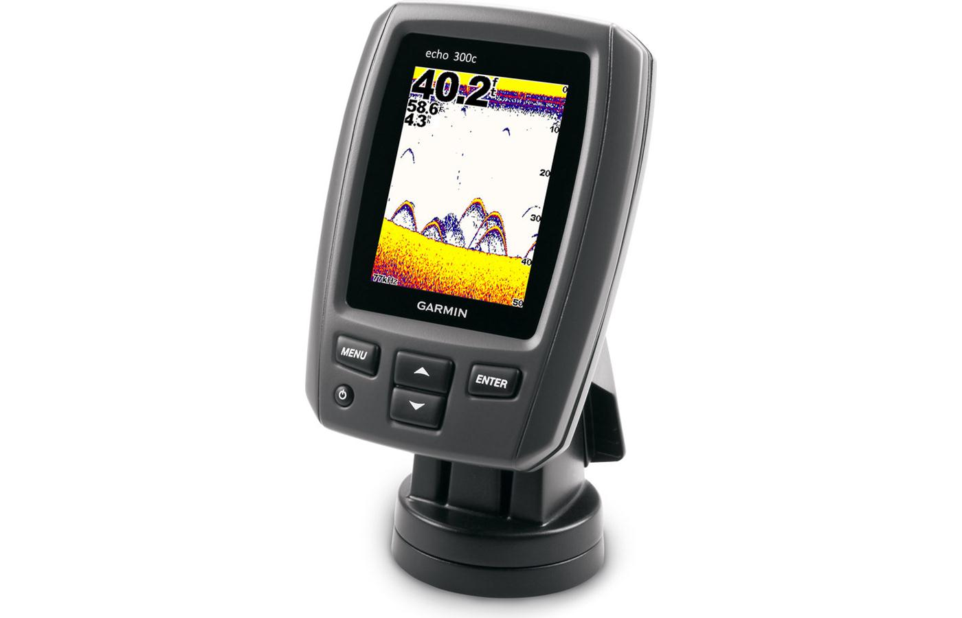Garmin Echo 300c Fishfinder with 3.5