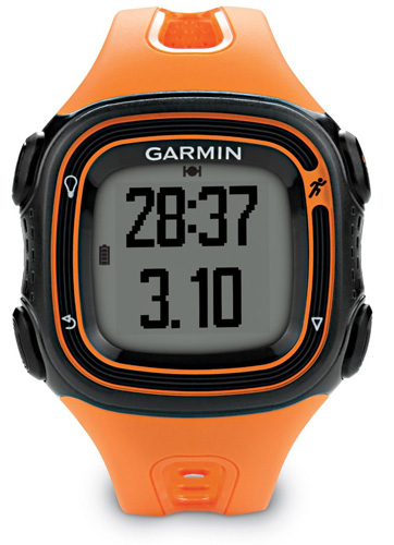 Garmin Forerunner 10 GPS Running Watch Black & Orange