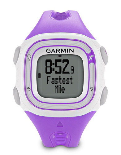 Garmin Forerunner 10 GPS Running Watch White & Violet