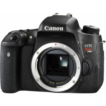 Canon EOS Rebel T6s/760D DSLR Camera (Body Only) RETAIL KIT