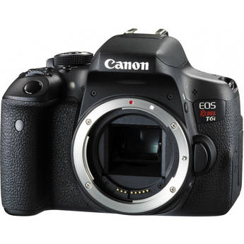 Canon EOS Rebel T6i/750D DSLR Camera (Body Only) RETAIL KIT