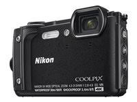 Nikon Coolpix W300 16.0 MP Compact Ultra HD Digital Camera - 4K - Black
